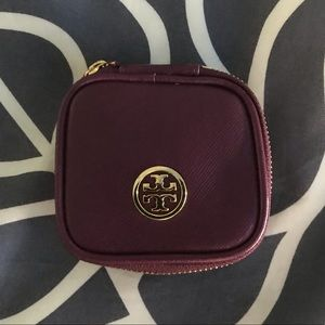 Tory Burch travel jewelry case